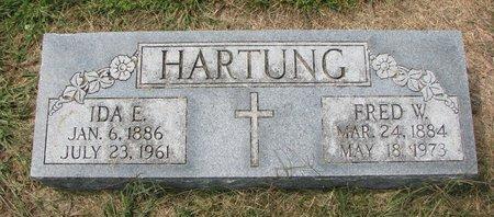HARTUNG, FRED W. - Washington County, Nebraska | FRED W. HARTUNG - Nebraska Gravestone Photos
