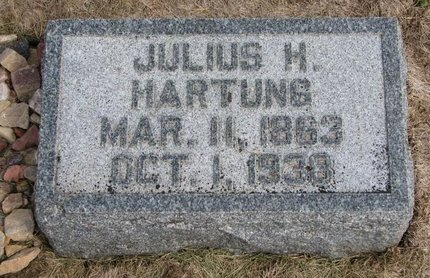 HARTUNG, JULIUS H. - Washington County, Nebraska | JULIUS H. HARTUNG - Nebraska Gravestone Photos