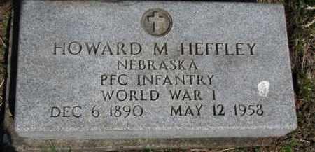 HEFFLEY, HOWARD M. - Washington County, Nebraska | HOWARD M. HEFFLEY - Nebraska Gravestone Photos