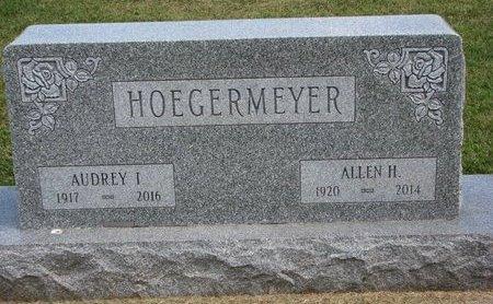 HOEGERMEYER, AUDREY IRENE - Washington County, Nebraska | AUDREY IRENE HOEGERMEYER - Nebraska Gravestone Photos