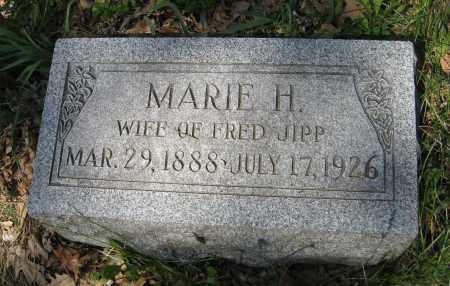 JIPP, MARIE H. - Washington County, Nebraska | MARIE H. JIPP - Nebraska Gravestone Photos