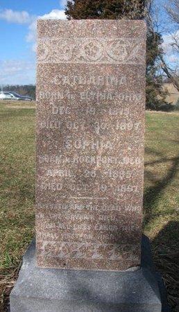 JOHANSENN, CATHARINA - Washington County, Nebraska | CATHARINA JOHANSENN - Nebraska Gravestone Photos