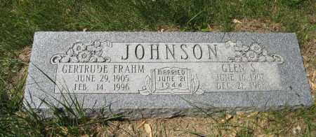 JOHNSON, GERTRUDE - Washington County, Nebraska | GERTRUDE JOHNSON - Nebraska Gravestone Photos
