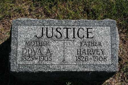 JUSTICE, DOVA A. - Washington County, Nebraska   DOVA A. JUSTICE - Nebraska Gravestone Photos