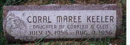 KEELER, CORAL MAREE - Washington County, Nebraska   CORAL MAREE KEELER - Nebraska Gravestone Photos