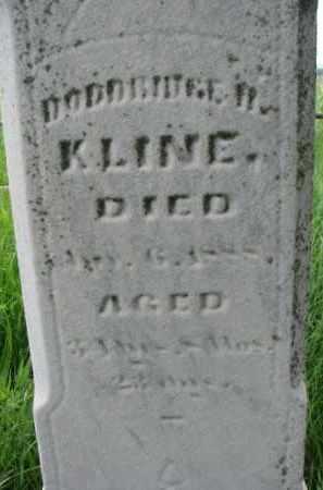 KLINE, DODDRIDGE H. - Washington County, Nebraska | DODDRIDGE H. KLINE - Nebraska Gravestone Photos