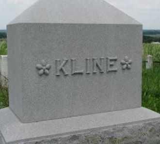 KLINE, FAMILY PLOT MARKER - Washington County, Nebraska | FAMILY PLOT MARKER KLINE - Nebraska Gravestone Photos