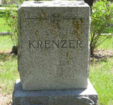 KRENZER, (FAMILY MONUMENT) - Washington County, Nebraska | (FAMILY MONUMENT) KRENZER - Nebraska Gravestone Photos