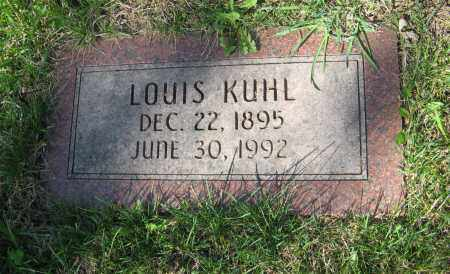 KUHL, LOUIS - Washington County, Nebraska   LOUIS KUHL - Nebraska Gravestone Photos