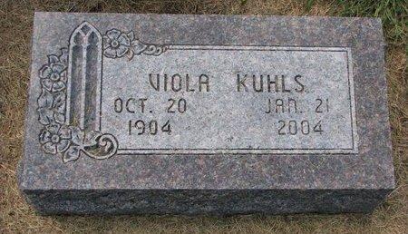 KUHLS, VIOLA - Washington County, Nebraska | VIOLA KUHLS - Nebraska Gravestone Photos