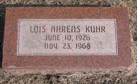 AHRENS KUHR, LOIS - Washington County, Nebraska | LOIS AHRENS KUHR - Nebraska Gravestone Photos
