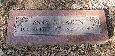 LARSEN, ANNA C. - Washington County, Nebraska | ANNA C. LARSEN - Nebraska Gravestone Photos