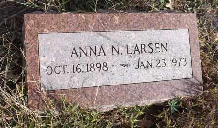LARSEN, ANNA N. - Washington County, Nebraska | ANNA N. LARSEN - Nebraska Gravestone Photos