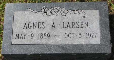 LARSEN, AGNES A. - Washington County, Nebraska | AGNES A. LARSEN - Nebraska Gravestone Photos