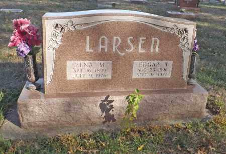 LARSEN, EDGAR B. - Washington County, Nebraska | EDGAR B. LARSEN - Nebraska Gravestone Photos