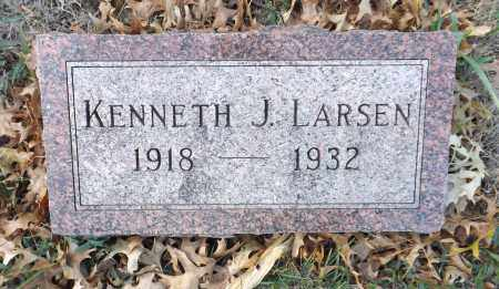 LARSEN, KENNETH J. - Washington County, Nebraska | KENNETH J. LARSEN - Nebraska Gravestone Photos