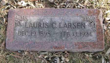 LARSEN, LAURIS C. - Washington County, Nebraska   LAURIS C. LARSEN - Nebraska Gravestone Photos