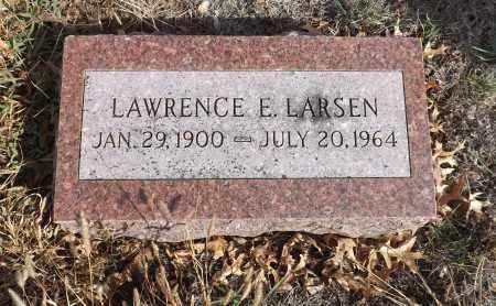 LARSEN, LAWRENCE E. - Washington County, Nebraska   LAWRENCE E. LARSEN - Nebraska Gravestone Photos