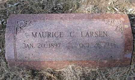 LARSEN, MAURICE C. - Washington County, Nebraska | MAURICE C. LARSEN - Nebraska Gravestone Photos