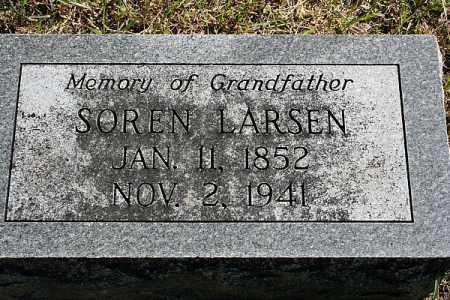 LARSEN, SOREN - Washington County, Nebraska | SOREN LARSEN - Nebraska Gravestone Photos
