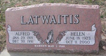 ALDRICH LATWAITIS, DOROTHY ALDRICH - Washington County, Nebraska | DOROTHY ALDRICH ALDRICH LATWAITIS - Nebraska Gravestone Photos