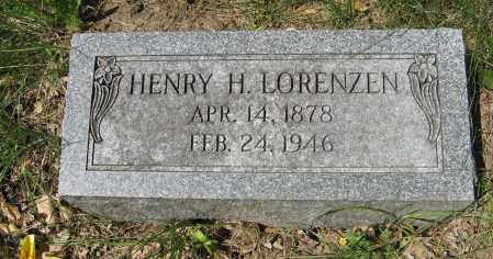 LORENZEN, HENRY H. - Washington County, Nebraska | HENRY H. LORENZEN - Nebraska Gravestone Photos