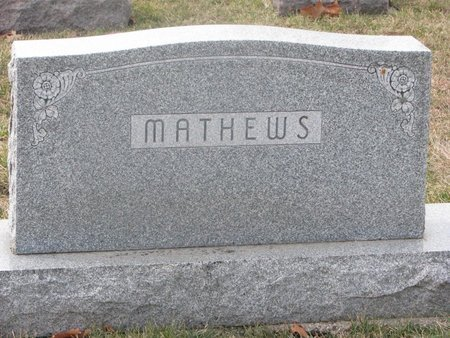 MATHEWS, *FAMILY MONUMENT - Washington County, Nebraska | *FAMILY MONUMENT MATHEWS - Nebraska Gravestone Photos