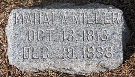 MILLER, MAHALA - Washington County, Nebraska | MAHALA MILLER - Nebraska Gravestone Photos