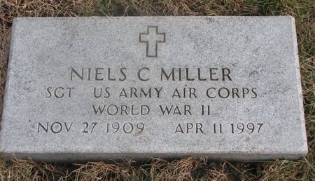 MILLER, NIELS C. - Washington County, Nebraska | NIELS C. MILLER - Nebraska Gravestone Photos