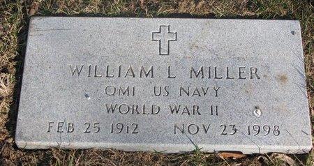 MILLER, WILLIAM L. - Washington County, Nebraska   WILLIAM L. MILLER - Nebraska Gravestone Photos
