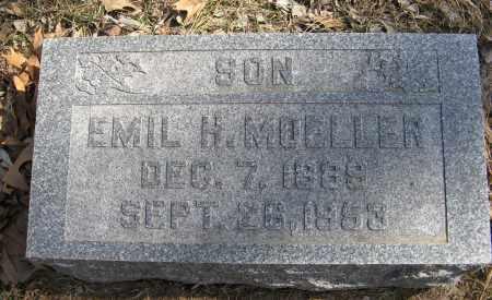 MOELLER, EMIL H. - Washington County, Nebraska | EMIL H. MOELLER - Nebraska Gravestone Photos