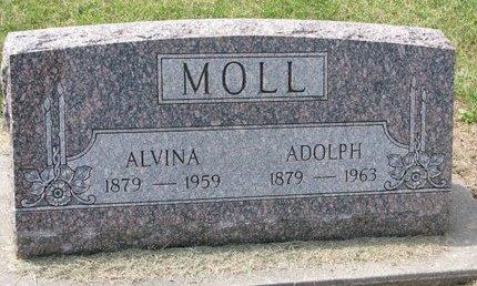 MOLL, ADOLPH - Washington County, Nebraska | ADOLPH MOLL - Nebraska Gravestone Photos