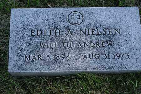 NIELSON, EDITH A. - Washington County, Nebraska | EDITH A. NIELSON - Nebraska Gravestone Photos