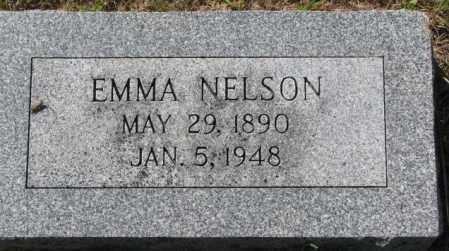 NELSON, EMMA - Washington County, Nebraska | EMMA NELSON - Nebraska Gravestone Photos