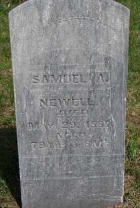 NEWELL, SAMUEL A. - Washington County, Nebraska | SAMUEL A. NEWELL - Nebraska Gravestone Photos