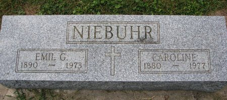MOELLER NIEBUHR, CAROLINE - Washington County, Nebraska   CAROLINE MOELLER NIEBUHR - Nebraska Gravestone Photos