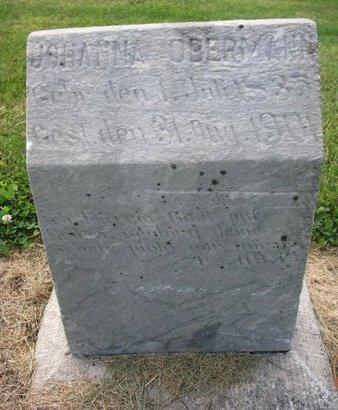 OBERMANN, JOHANNA - Washington County, Nebraska | JOHANNA OBERMANN - Nebraska Gravestone Photos