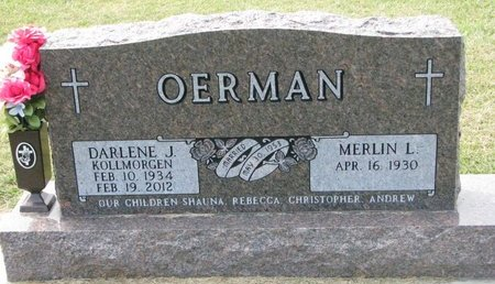 OERMAN, MERLIN L. - Washington County, Nebraska | MERLIN L. OERMAN - Nebraska Gravestone Photos