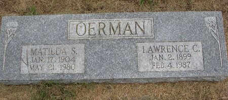 BENJES OERMAN, MATILDA SOPHIA - Washington County, Nebraska | MATILDA SOPHIA BENJES OERMAN - Nebraska Gravestone Photos