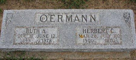 HARTUNG OERMANN, RUTH ANN - Washington County, Nebraska | RUTH ANN HARTUNG OERMANN - Nebraska Gravestone Photos