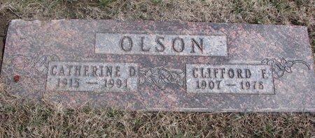OLSON, CATHERINE D. - Washington County, Nebraska | CATHERINE D. OLSON - Nebraska Gravestone Photos