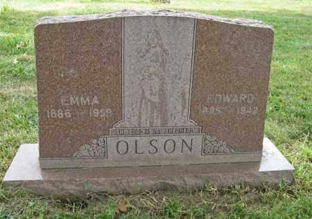 OLSON, EMMA - Washington County, Nebraska | EMMA OLSON - Nebraska Gravestone Photos