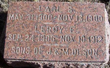 OLSON, LEROY E. - Washington County, Nebraska | LEROY E. OLSON - Nebraska Gravestone Photos