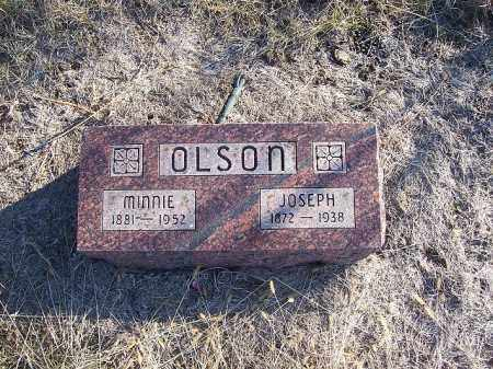 OLSON, MINNIE - Washington County, Nebraska | MINNIE OLSON - Nebraska Gravestone Photos