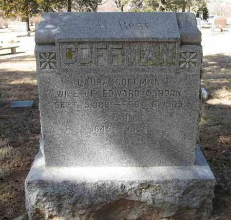 COFFMAN, SARAH L. - Washington County, Nebraska | SARAH L. COFFMAN - Nebraska Gravestone Photos