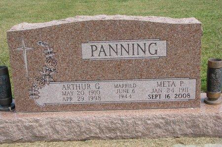 PANNING, META P. - Washington County, Nebraska | META P. PANNING - Nebraska Gravestone Photos