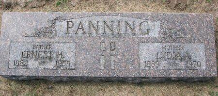 SCHEER PANNING, LYDIA AUGUSTA - Washington County, Nebraska   LYDIA AUGUSTA SCHEER PANNING - Nebraska Gravestone Photos