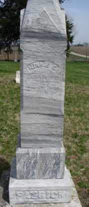PATRICK, MINNIE E. - Washington County, Nebraska | MINNIE E. PATRICK - Nebraska Gravestone Photos