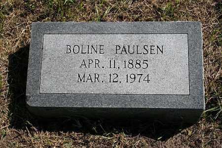 PAULSEN, BOLINE - Washington County, Nebraska | BOLINE PAULSEN - Nebraska Gravestone Photos