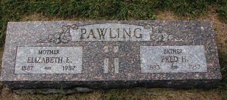 SIMPSON PAWLING, ELIZABETH ELLEN - Washington County, Nebraska | ELIZABETH ELLEN SIMPSON PAWLING - Nebraska Gravestone Photos
